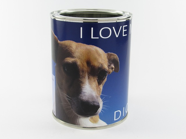 psí plechovka