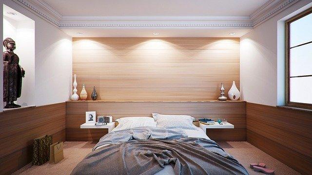 Ložnice, postel